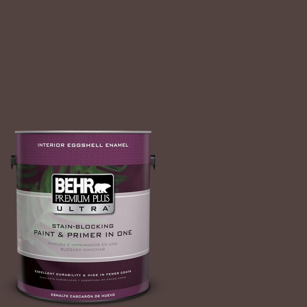 1-gal. #BNC-21 Double Espresso Eggshell Enamel Interior Paint