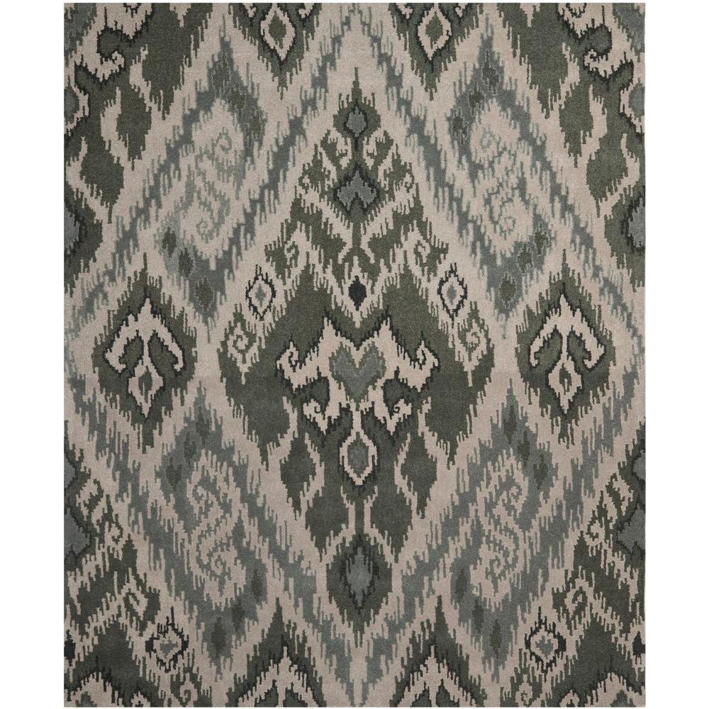 Capri Multi/Grey 6 ft. x 9 ft. Area Rug