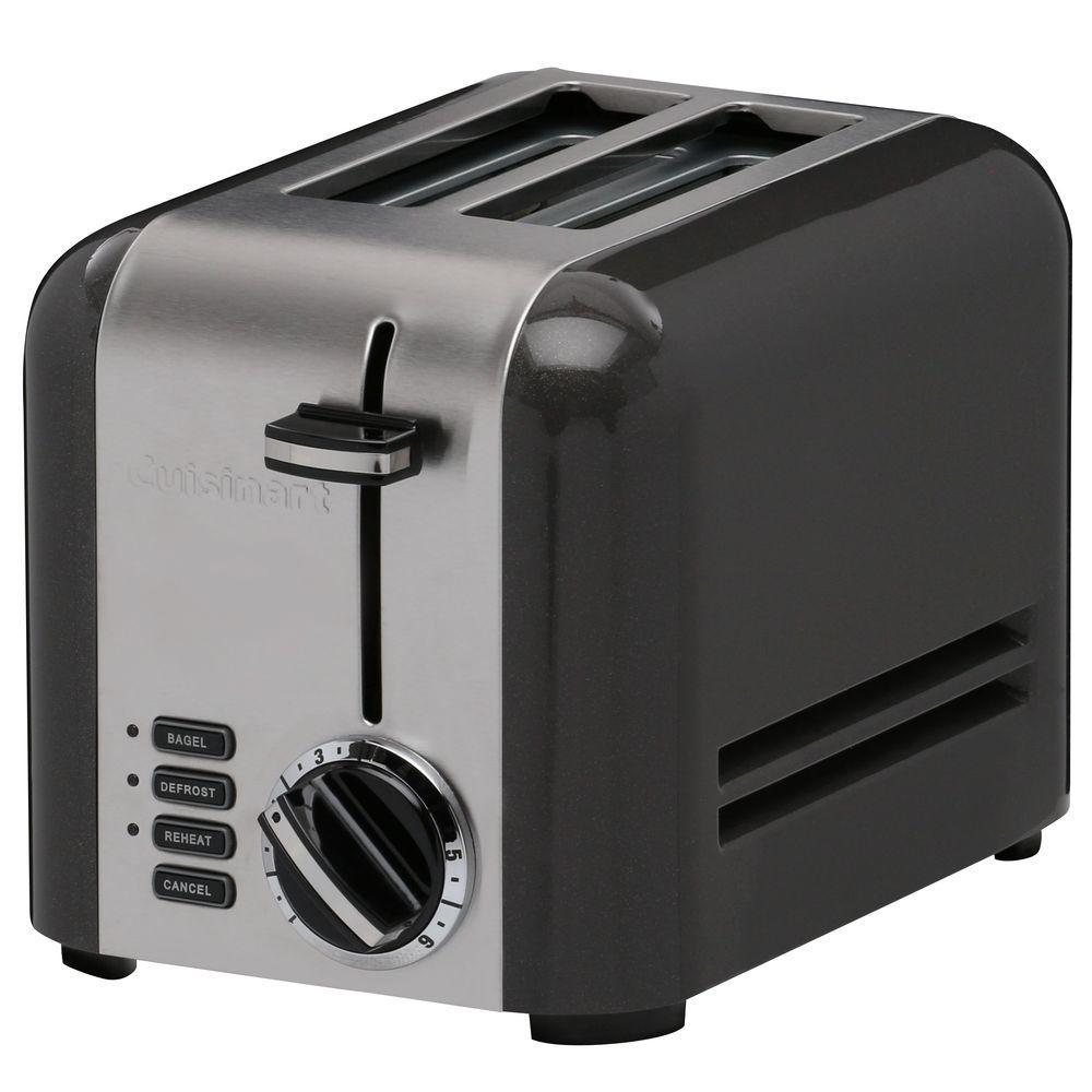 Classic 2-Slice Toaster in Black
