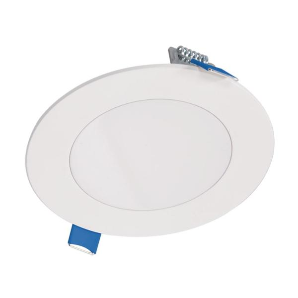 HLBSL 4 in. Color Selectable New Construction or Remodel Canless Recessed Integrated LED Kit