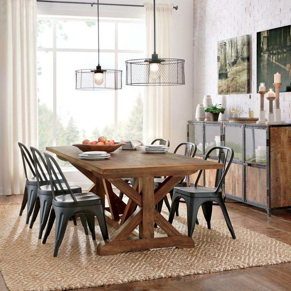 Home Decorators Collection Cane Bark Dining Table