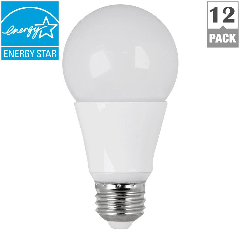 Bulbrite 40w Equivalent Warm White Light A19 Dimmable Led: Feit Electric 60W Equivalent Warm White (3000K) A19