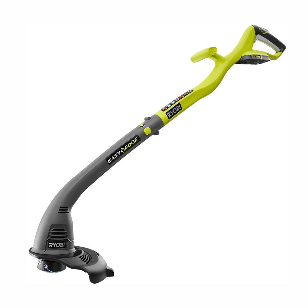 RYOBI ONE+ 18-Volt Lithium-Ion Cordless Battery Electric String Trimmer and Edger (Tool Only)