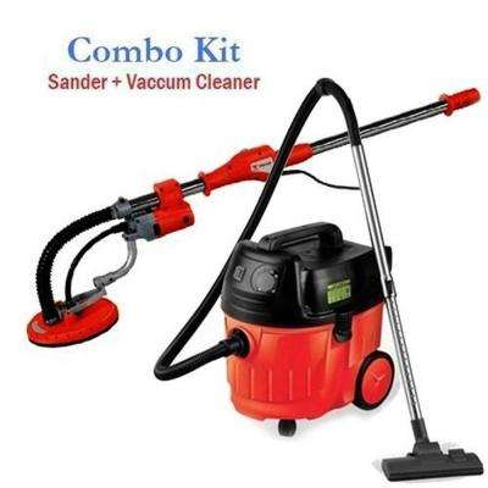 Dust Free Heavy Duty Portable Drywall Sander and Vacuum