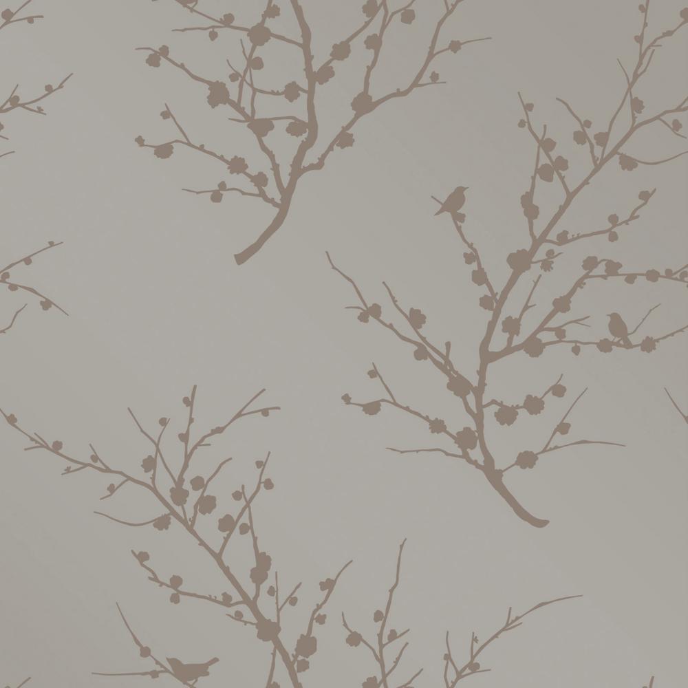 Edie Bronze Self Adhesive Removable Wallpaper
