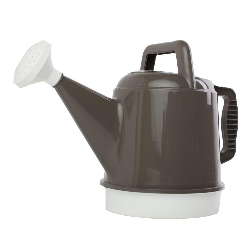 Bloem 2.5 Gal. Peppercorn Deluxe Watering Can