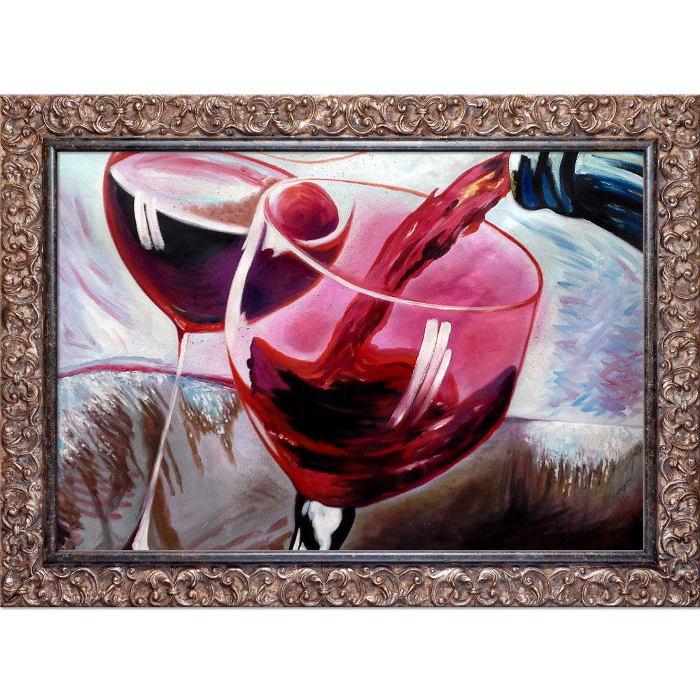 ArtistBe That's a Good Cab Reproduction with Brasovia FrameCanvas Print, Multi-color was $1296.01 now $542.8 (58.0% off)