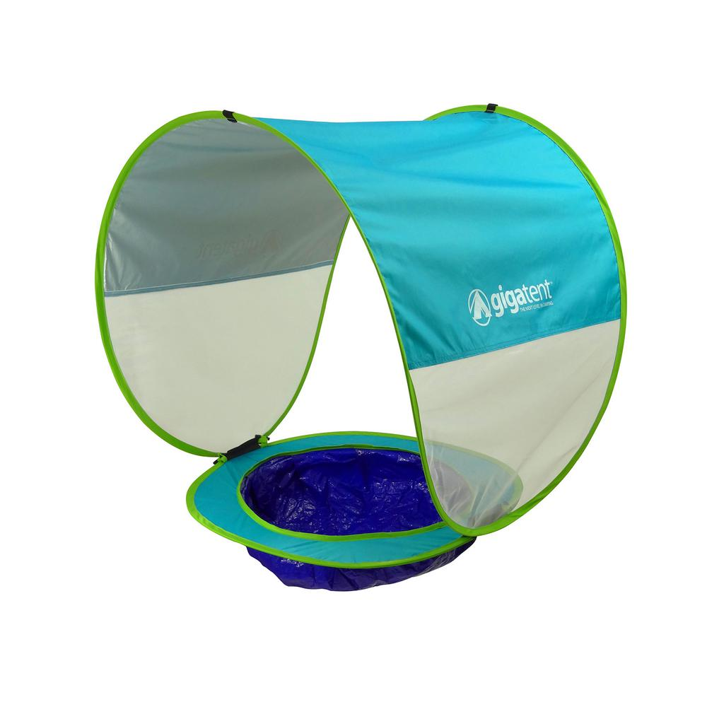GigaTent 30 in. x 75 in. Baby Beach Pool And Shade Tent-BCT009 - The on lil nursery tent, portable baby tent, baby on beech, baby float with canopy, baby beach dog, baby beach accessories, pop-up tent, baby home tent, under the stars tent, tarp tent, baby beach playpen, baby beach furniture, baby beach book, baby beach chairs, outdoor baby tent, soccer mom rain tent, bivouac shelter, baby beach sign, sleeping bag, baby beach mattress, kidco baby tent, baby beach equipment, baby beach cabana,