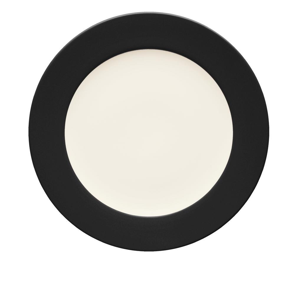 Noritake Colorwave 11 in. Graphite Rim Dinner Plate 8034-606