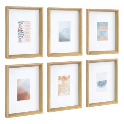 "Calter ""Abstract"" Framed Print Wall Art Set 12.5 in. x 15.5 in."
