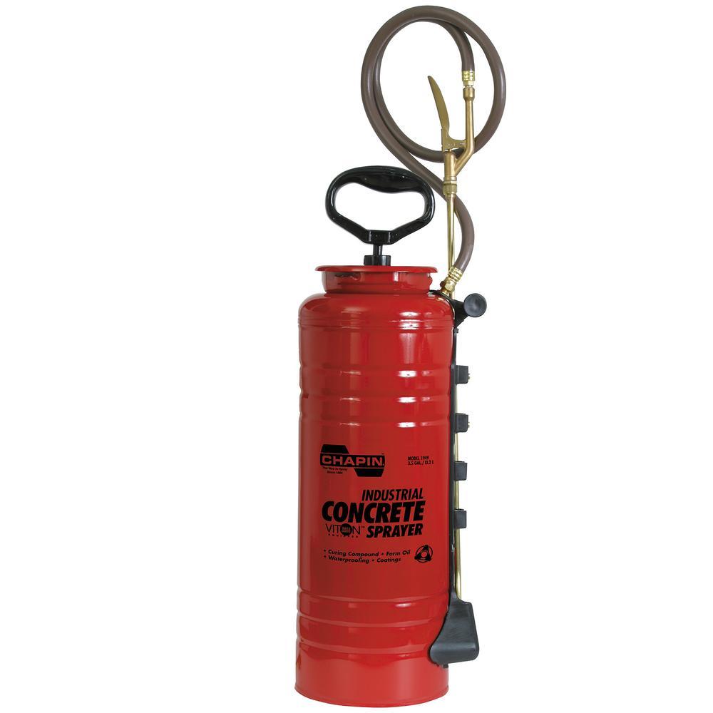 3.5 Gal. Industrial Viton Concrete Open Head Sprayer