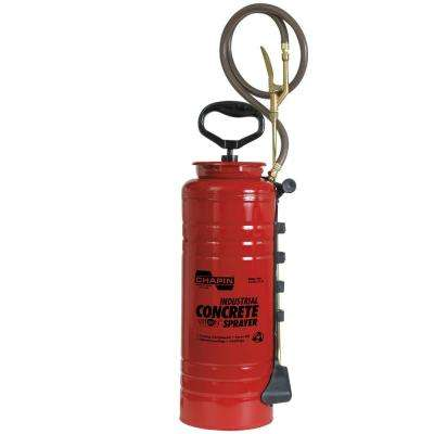 3.5 Gal. Industrial Viton Concrete Open Head Sprayer