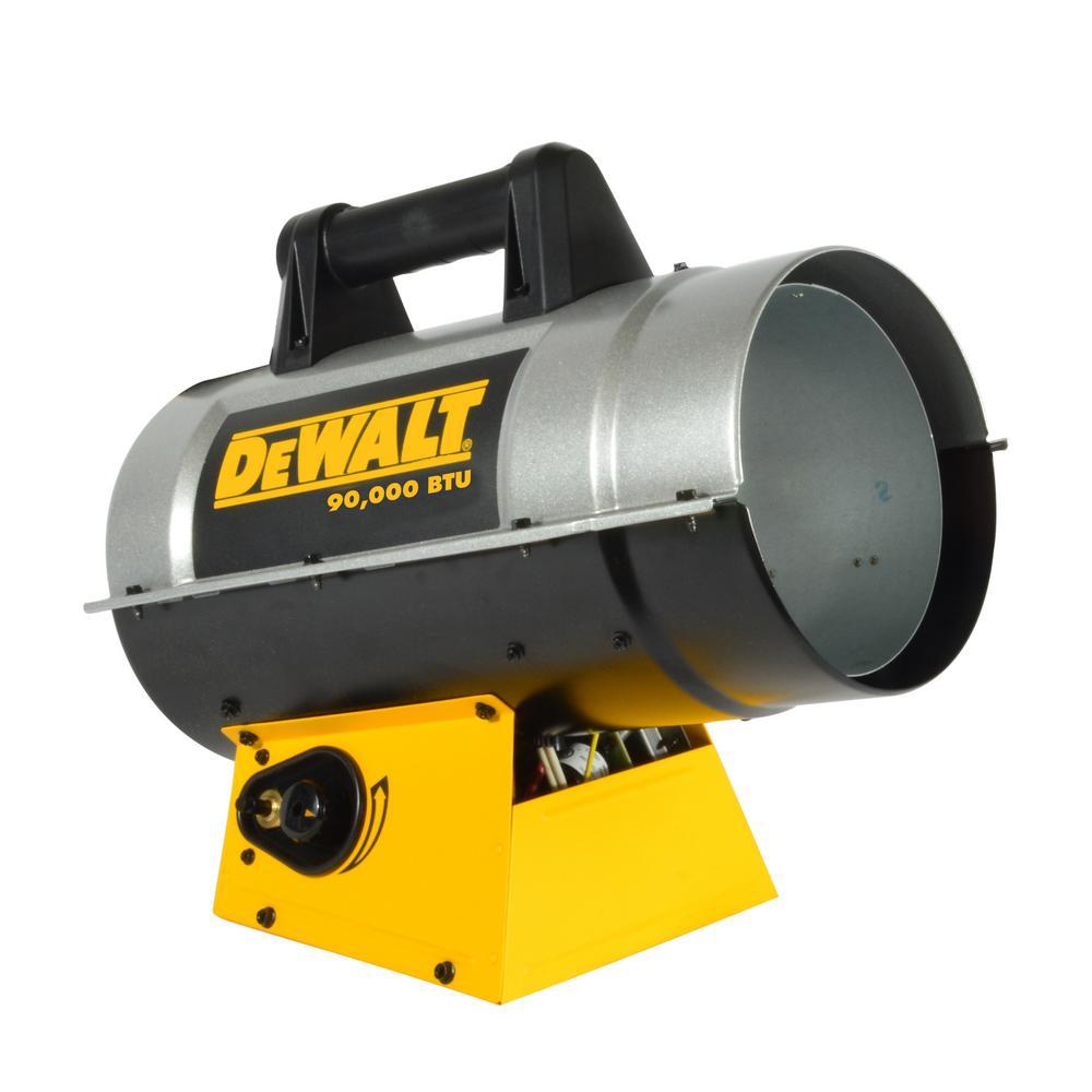 Forced Air Propane Heater >> Dewalt 90 000 Btu Forced Air Propane Heater