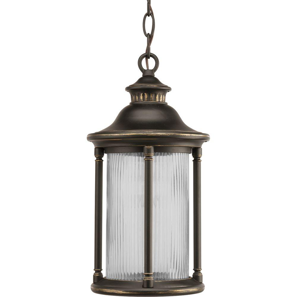 Progress Lighting Reside Collection Oil Rubbed Bronze 1-light Hanging Lantern