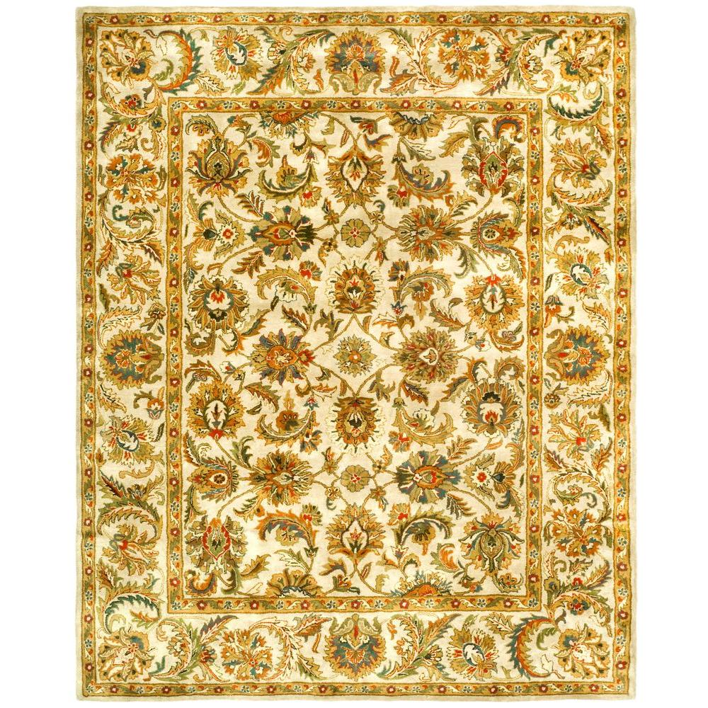 Safavieh Classic Ivory/Ivory 7 ft. 6 in. x 9 ft. 6 in. Area Rug