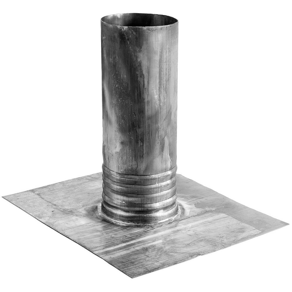 Master Flow 4 in  Lead Roof Boot No Caulk Vent Pipe Flashing