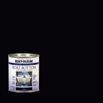 1 qt. Flat Black Boat Bottom Antifouling Paint (4-Pack)