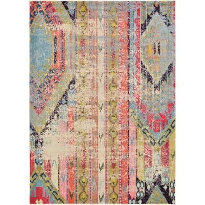 Sedona Yosemite Multi 7 ft. x 10 ft. Area Rug