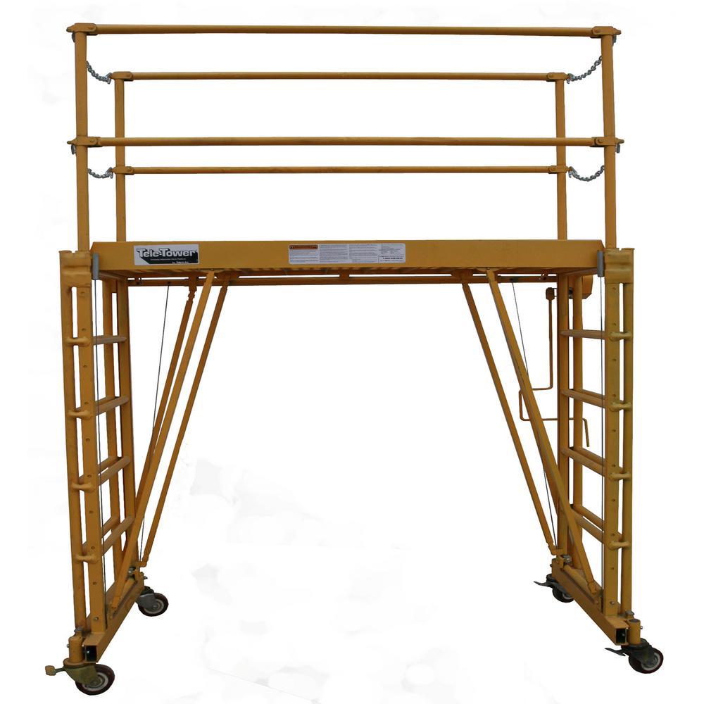 "Adjustable Work Platform 6'x22"" Deck"