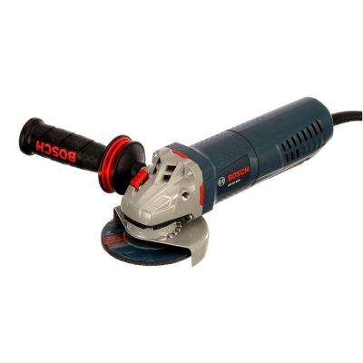 8.5 Amp Corded 4-1/2 in. Angle Grinder with No-Lock-On Paddle Switch