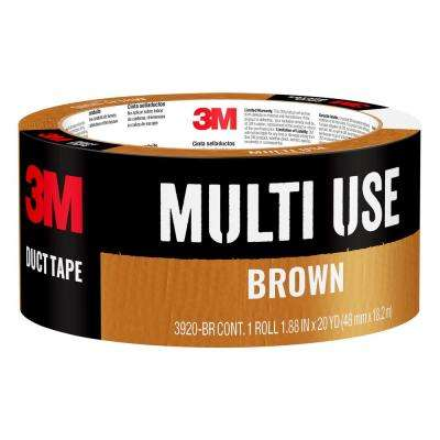 1.88 in. x 20 yds. Brown Duct Tape
