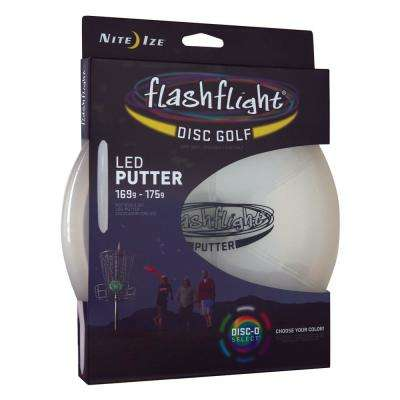 Flashflight LED Disc Golf Putter Disc-O Select