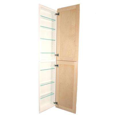 Silverton 14 in. x 62 in. x 4 in. Frameless Recessed Medicine Cabinet/Pantry