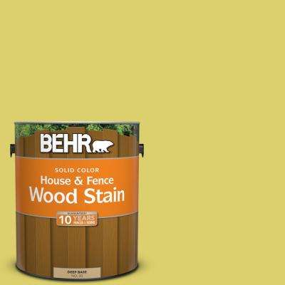 1 gal. #P340-4 Lime Tree Solid Color House and Fence Exterior Wood Stain