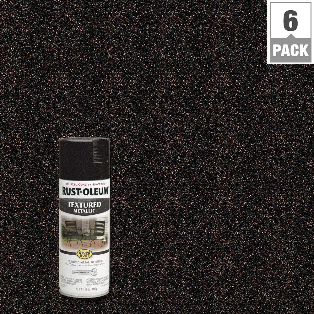rust oleum stops rust 12 oz textured metallic moonlight. Black Bedroom Furniture Sets. Home Design Ideas