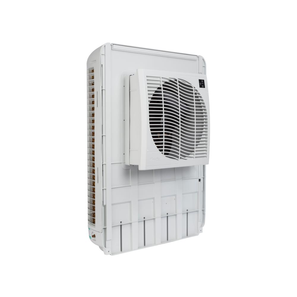 MasterCool 3200 CFM Slim Profile Window Evaporative Cooler For 1600 Sq. Ft.