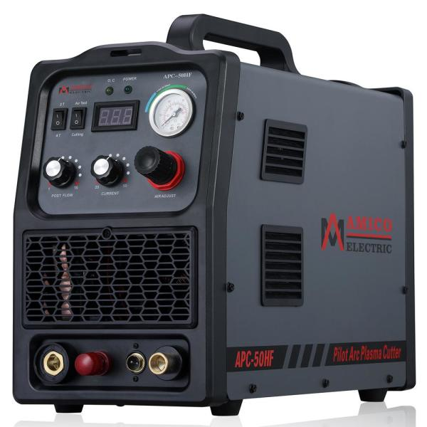 50 Amp Non-Touch Pilot Arc Plasma Cutter, 4/5 in. Clean Cut, 80% Duty Cycle 90-Volt to 300-Volt Wide Voltage