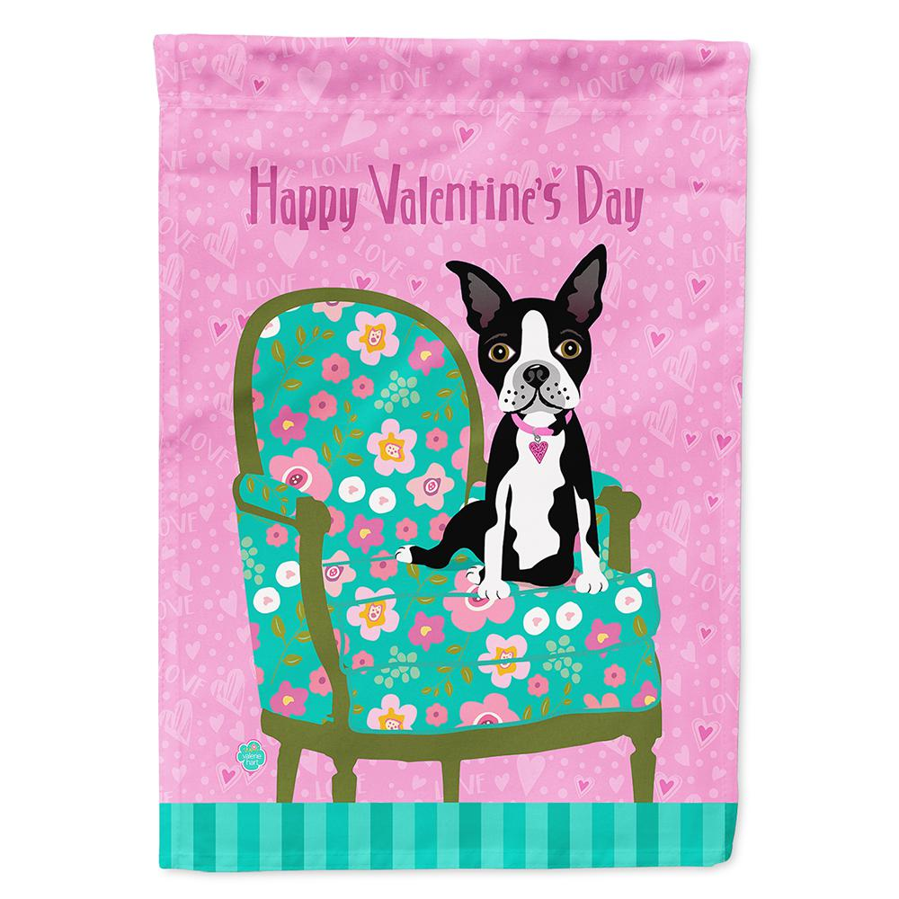 Carolineu0027s Treasures 11 In. X 15 1/2 In. Polyester Happy Valentineu0027s