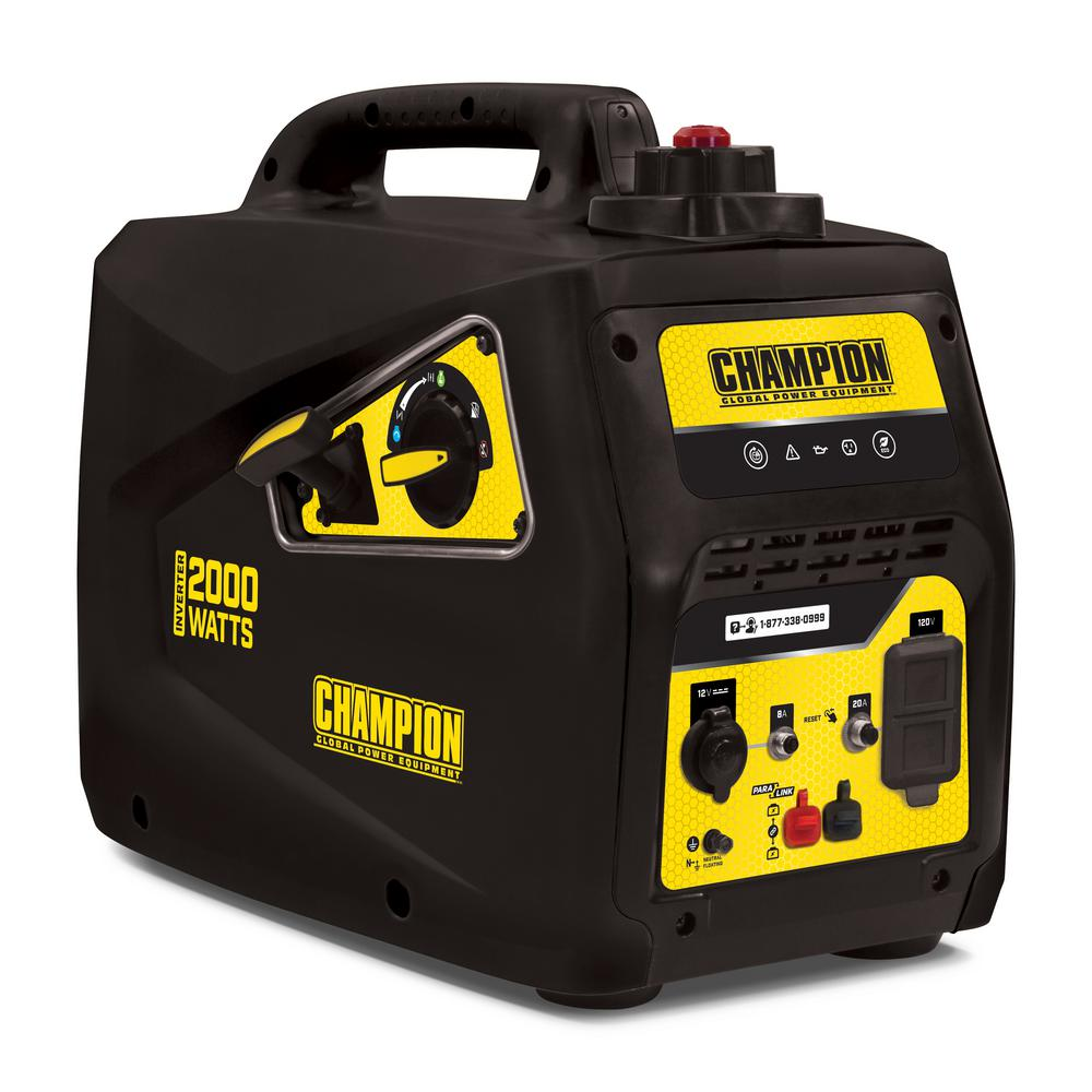 Champion Power Equipment Champion 2000-Watt Parallel Ready Portable Inverter Generator