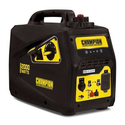 2,000-Watt Gasoline Portable Inverter Generator