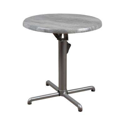 Drexler Round Aluminum Outdoor Dining Table