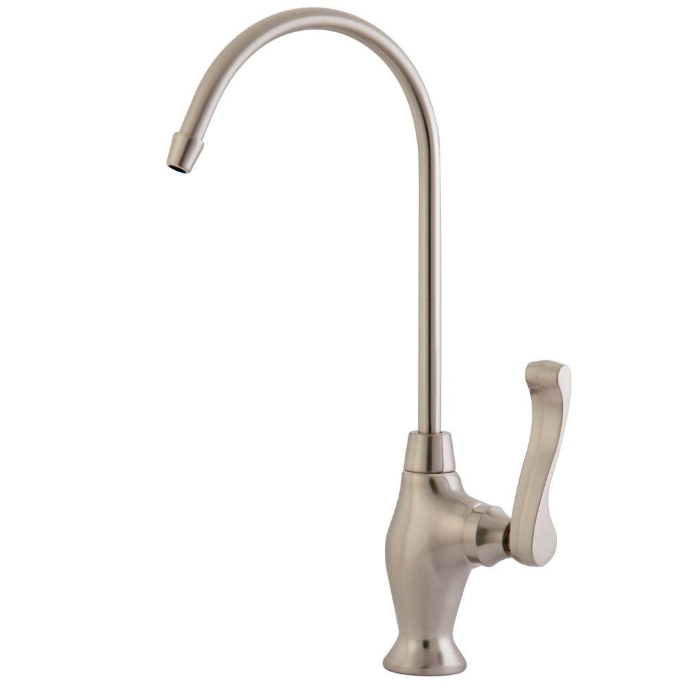 Replacement Drinking Water Filtration Faucet in Satin Nickel for Filtration  SystemsBeverage Faucets   Water Filters   The Home Depot. Stainless Steel Water Filter Faucet. Home Design Ideas