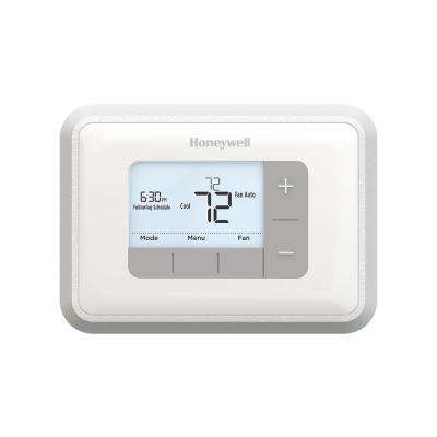 5 2 Day Programmable 2H 2C Thermostat With Backlight