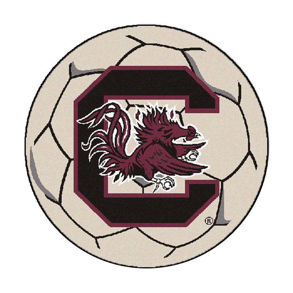 FANMATS 18510 NCAA University of South Carolina Mascot Mat