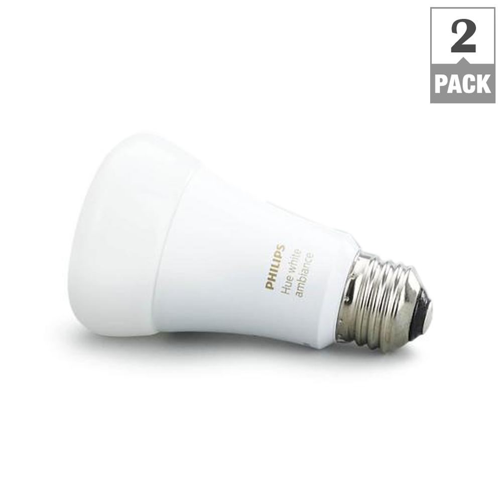 Hue White Ambiance A19 LED 60W Equivalent Dimmable Smart Wireless Light