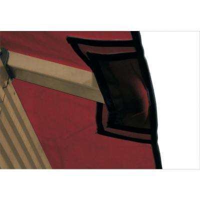 12 ft. x 12 ft. STC Seville and Santa Cruz Maroon Gazebo Replacement Canopy