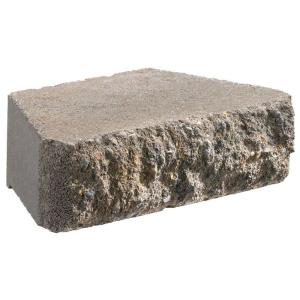 Oldcastle Carlton 3 In X 10 6 Gray Concrete Retaining Wall Block 16204427 The Home Depot