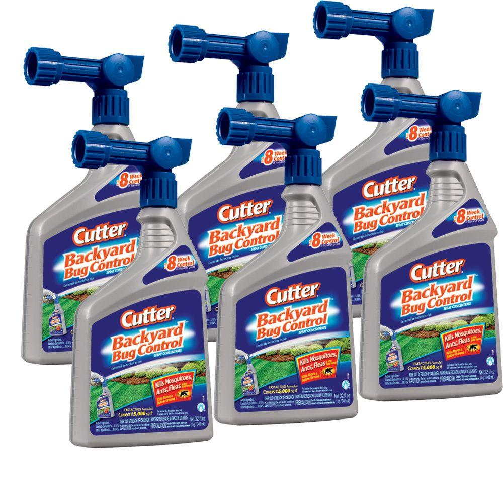 Attractive Cutter Ready To Spray Backyard Bug Control Bundle (6 Pack)