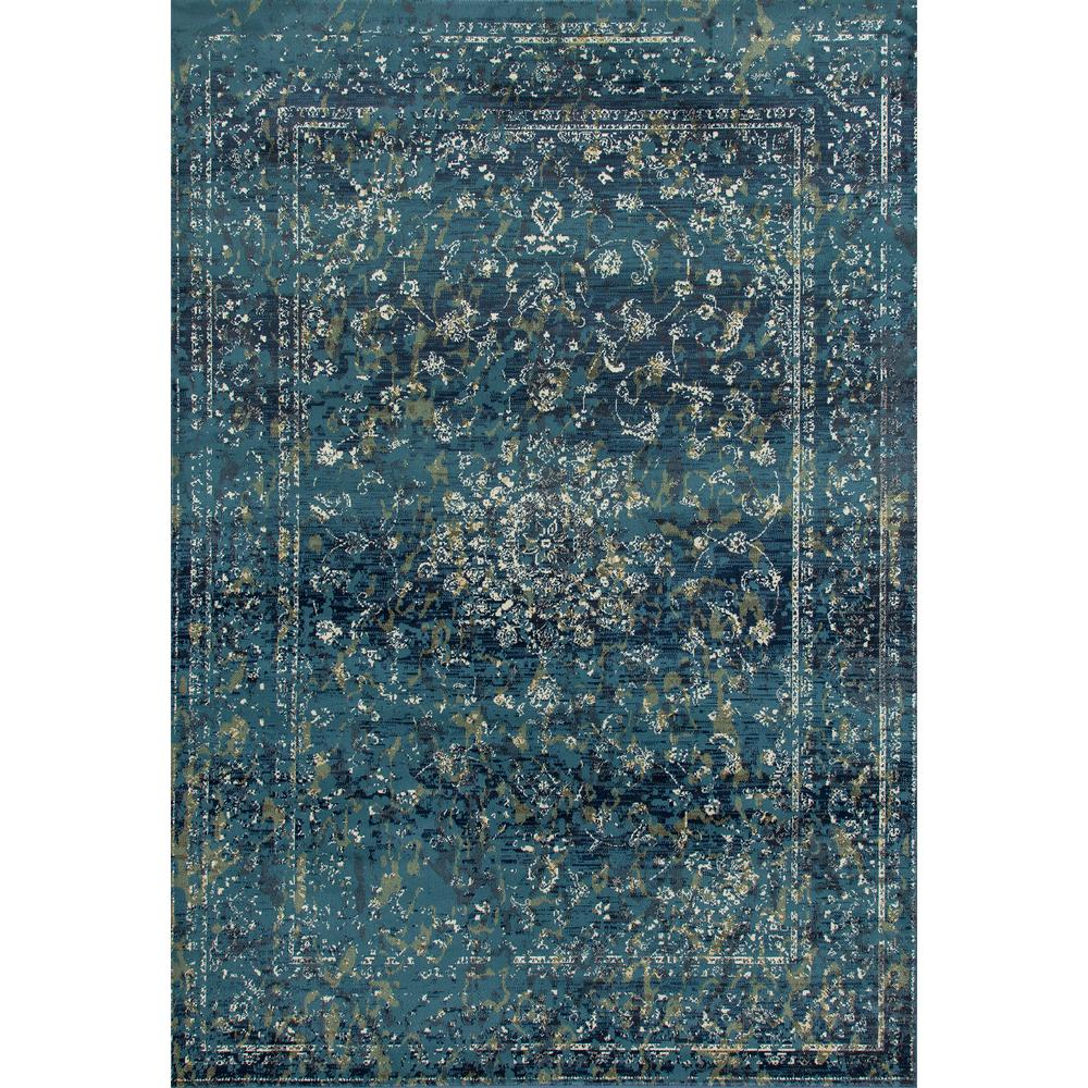 7 X 11 Area Rug: Art Carpet Karelia Invitation Medium Blue 7 Ft. 10 In. X