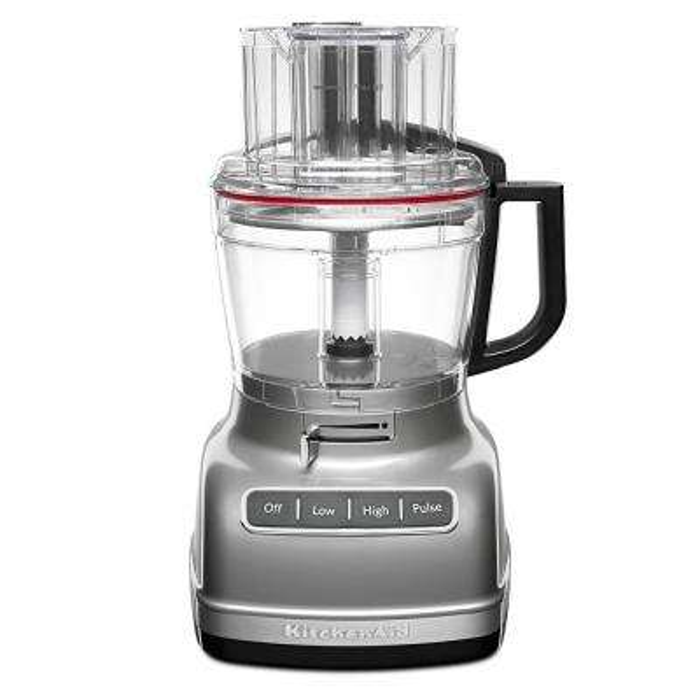 ExactSlice 11-Cup 3-Speed Contour Silver Food Processor