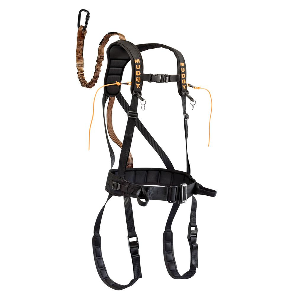 Safeguard Harness Black Large