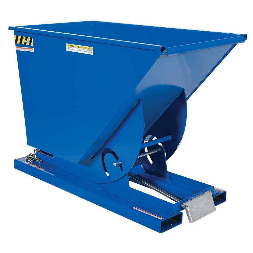 6,000 lb. Capacity 0.75 cu. yd. Heavy-Duty Self-Dump Hopper
