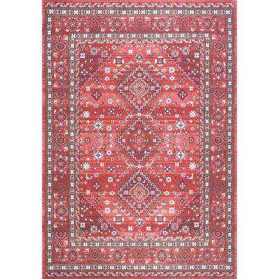 Daenerys Persian Red 8 Ft X 10 Area Rug