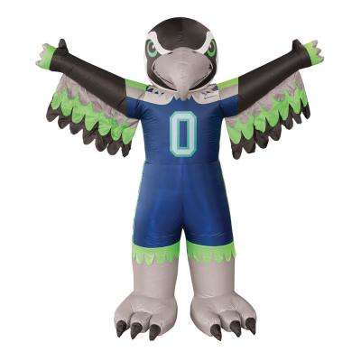 7 ft. Seattle Seahawks Inflatable Mascot