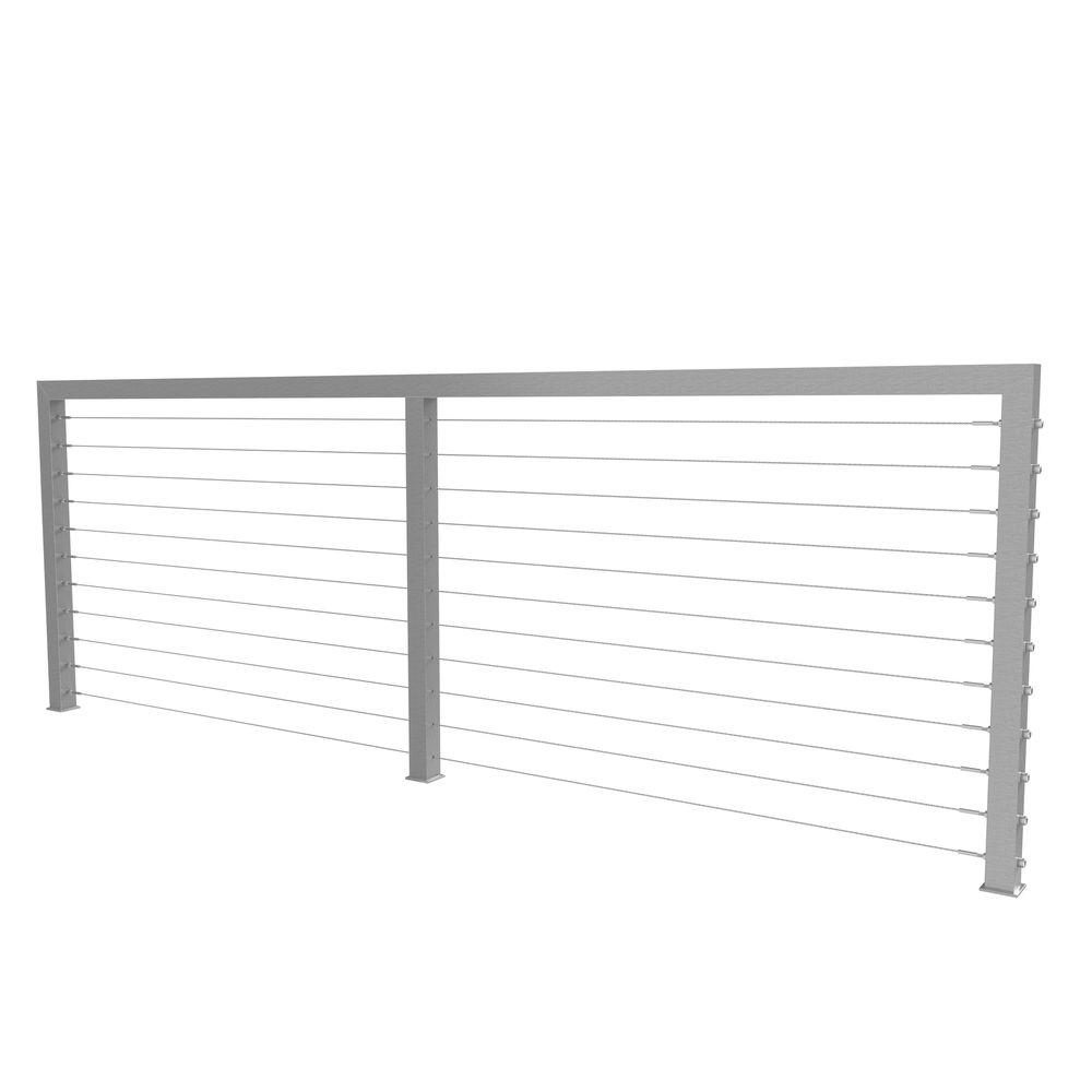Stainless Steel - Deck & Porch Railings - Decking - The Home Depot