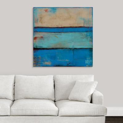 """Blue Urban"" by Erin Ashley Canvas Wall Art"